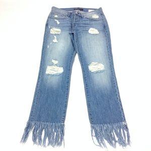 3x1 NYC Women's Jeans Denim Cotton Low Rise Sz 25